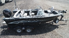 19' MirroCraft Aluminum Fishing 150 Mercury
