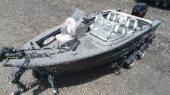 19' MirroCraft Aluminum Fishing 150 Mercury