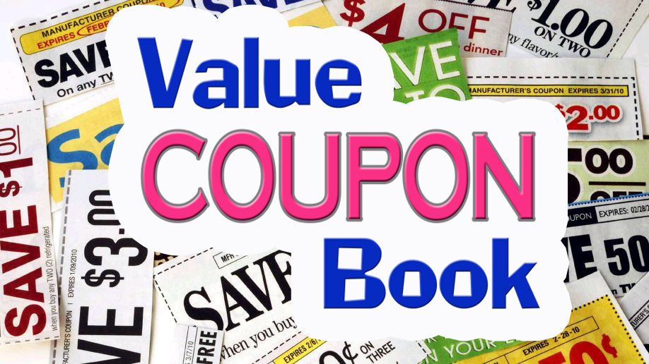 Use Value Coupon Book to get new Customers | Advertise Today for 9.99