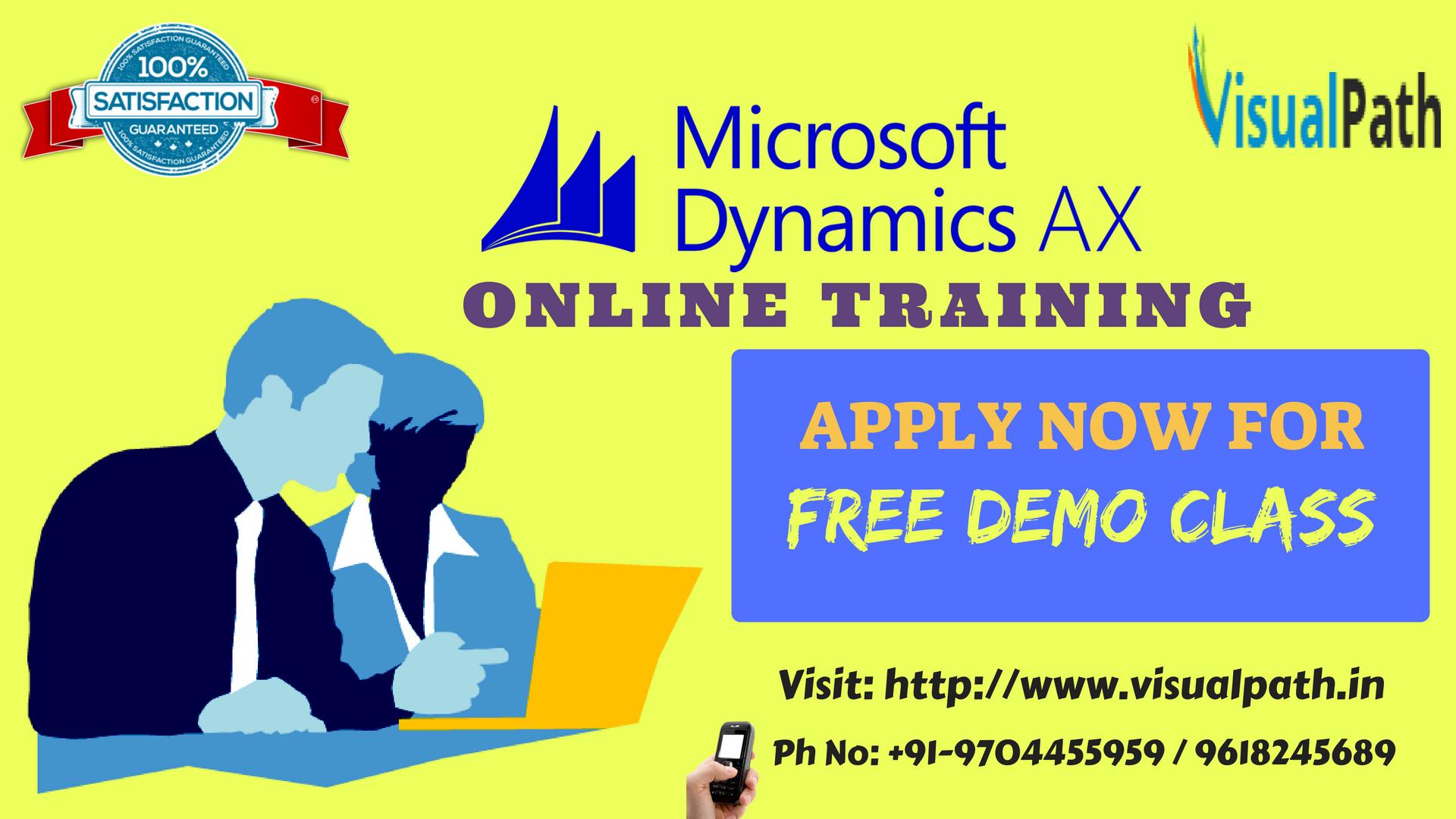 MS Dynamics Online Training | Microsoft Dynamics AX Training