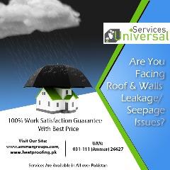 Roof Water Leakage and Seepage Solutions In Karachi, Pakistan