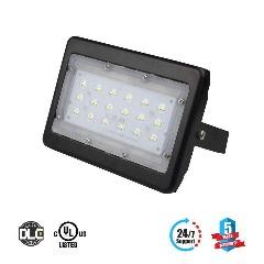 LED Flood Light 30 Watt 5700K Black Finish - LEDMyplace