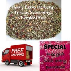 Tuscan Seasoning Blend, Order now FREE shipping, free gift, Buy 3 get 1 FREE