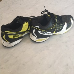 babolat shoes in good condition