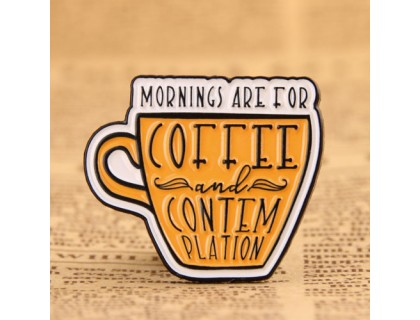 Mornings Are for Coffee and Contemplation Pins from GS-JJ