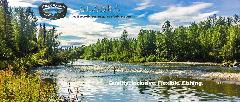 Fishing Lodge On Remote Lake Creek
