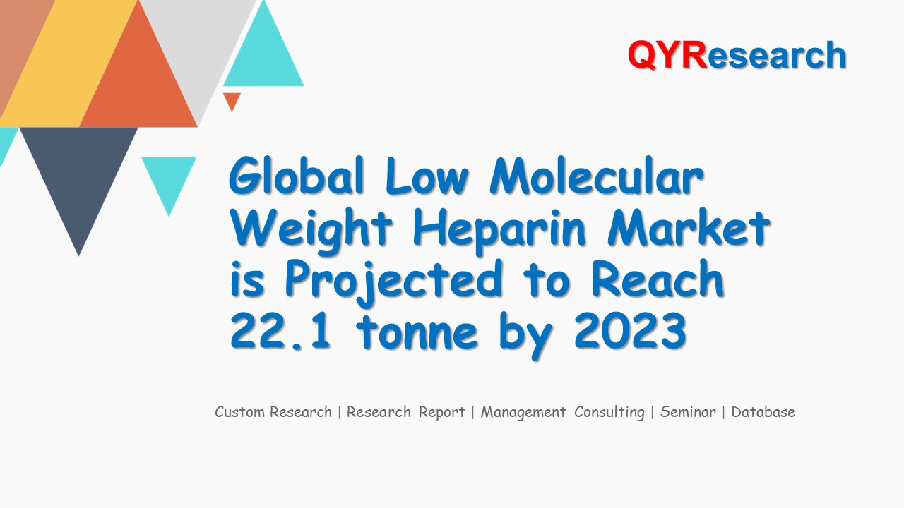 Global Low Molecular Weight Heparin Market is Projected to Reach 22.1 tonne by 2023