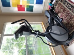 Sole elliptical machine