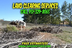 Land Clearing and Brush Removal Services. Free Quote
