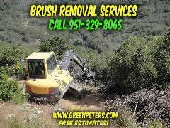 Brush Removal and Land Clearing Services. Call Us