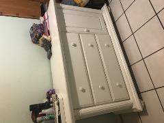 Crib and Dresser