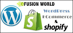Setup Your Shopify Store Design with eFusionWorld