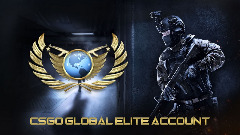 Become a CSGO Global Elite for a long time