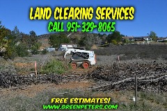 Land Clearing Services in Temecula