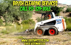 Brush Clearing and Removal Services Temecula