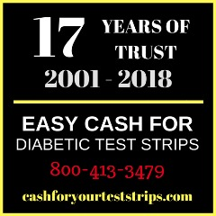 One Touch Ultra 100's - Diabetes Test Strips