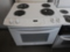 KENMORE 30 INCH DROP IN ELECTRIC RANGE COIL BURNERS NEW PANS