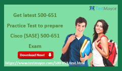 Cisco (SASE) 500-651 Practice Test Questions