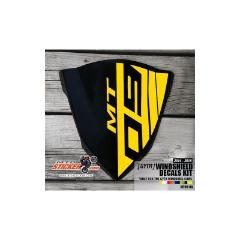 Yamaha MT-09 GYTR Windscreen sticker (08)