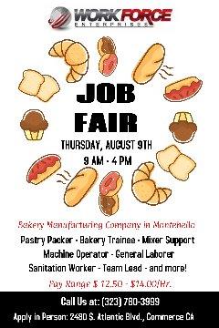 Job Fair! 50+ Openings! All Shifts - Up to $14/Hr . DOE