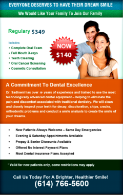Adult Dental Cleaning New Patient Offer | Columbus Dublin, Ohio