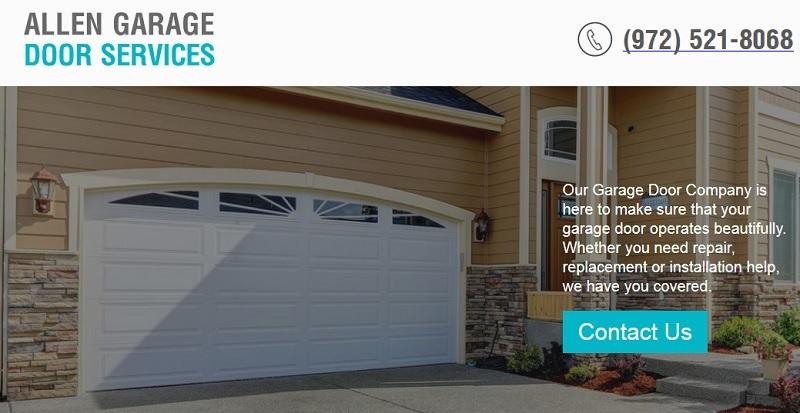 Pennysaver Garage Door Installation Opener Installation In Allen