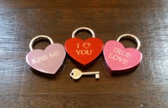 Love Locks for KC Parks and the Old Red Bridge