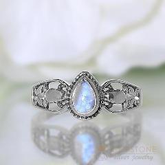 Gemstone moonstone jewelry