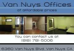 VAN NUYS OFFICE SPACE STARTING AT $195