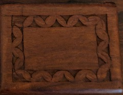 Decorative Wooden Trinket Box Made In India