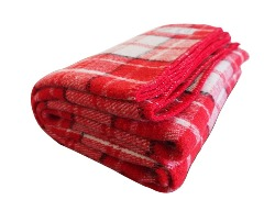 Original 100% merino wool blankets in attractive colors