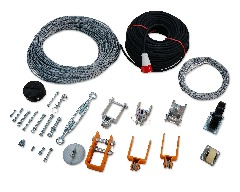 Spare Parts- Wire Rope, Cable, Suspended Platform, Suspended Gondola