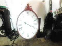 I have oval wooden clock for sale