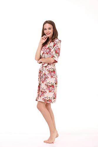 PennySaver | Mr & Mrs Right Women\'s Floral Cotton Kimono Robe for ...