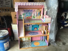 Wood Doll House for Sale