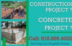 Concrete Repair & Construction Projects