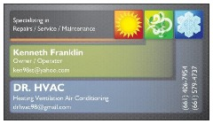 DR HVAC 18 years experience EPA/NATE Certified