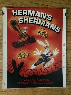 Who Framed Roger Rabbit Herman's Shermans Print