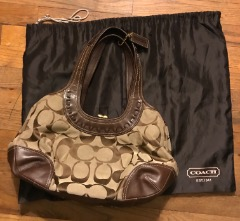 Coach Purse w/Dust Bag