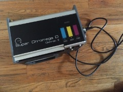 Omega Enlarger Super Chromega D 4x5 Lamphouse Dichroic 2 Color Head