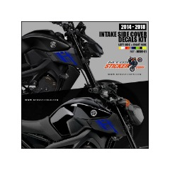 Yamaha MT-09 Intake side covers stickers (01)
