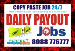 Work at home without investment Copy paste job | Daily