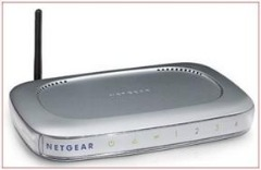 NETGEAR WGR614 WIRELESS ROUTER - $25