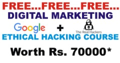FREE DIGITAL MARKETING AND ETHICAL HACKING COURSE IN AHMEDABAD