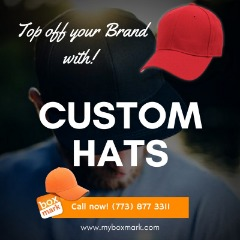 Print your logo in a cap
