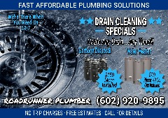 24/7 PLUMBING ◈ DRAIN CLEANING SPECIALS ◈ PLUMBER ☎︎