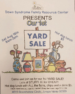 Non Profit Yard Sale