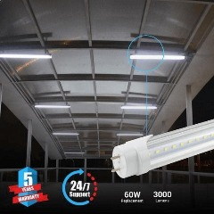 Clear White T8 4ft 22W LED Tube For SALE -top selling product