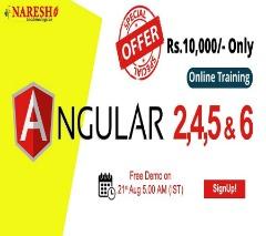 Angular 2, 4, 5 and 6 Online Training - NareshIT