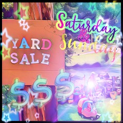 End of the Summer Yard Sale ~*NEXT WEEKEND*~